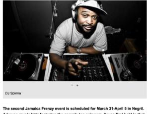 Jamaica Frenzy Press: Ja Frenzy Returns